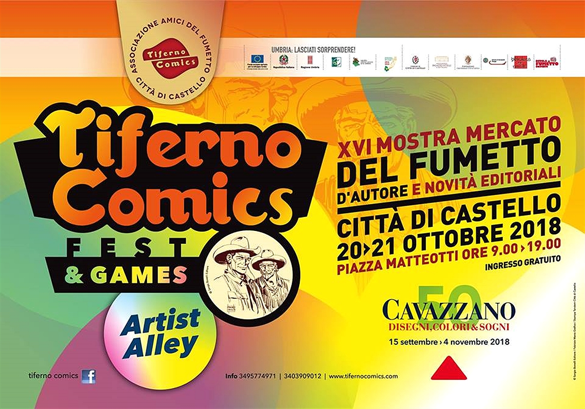 Tiferno Comics Fest & Games